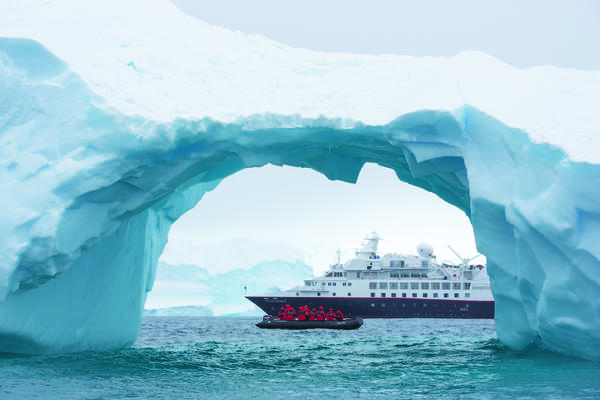 Silversea's Silver Explorer in Antarctica (Photo: Silversea)