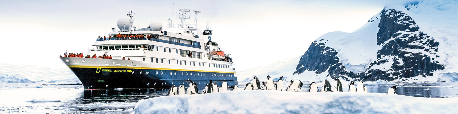 National Geographic Orion in Antarctica (Photo: Lindblad Expeditions)