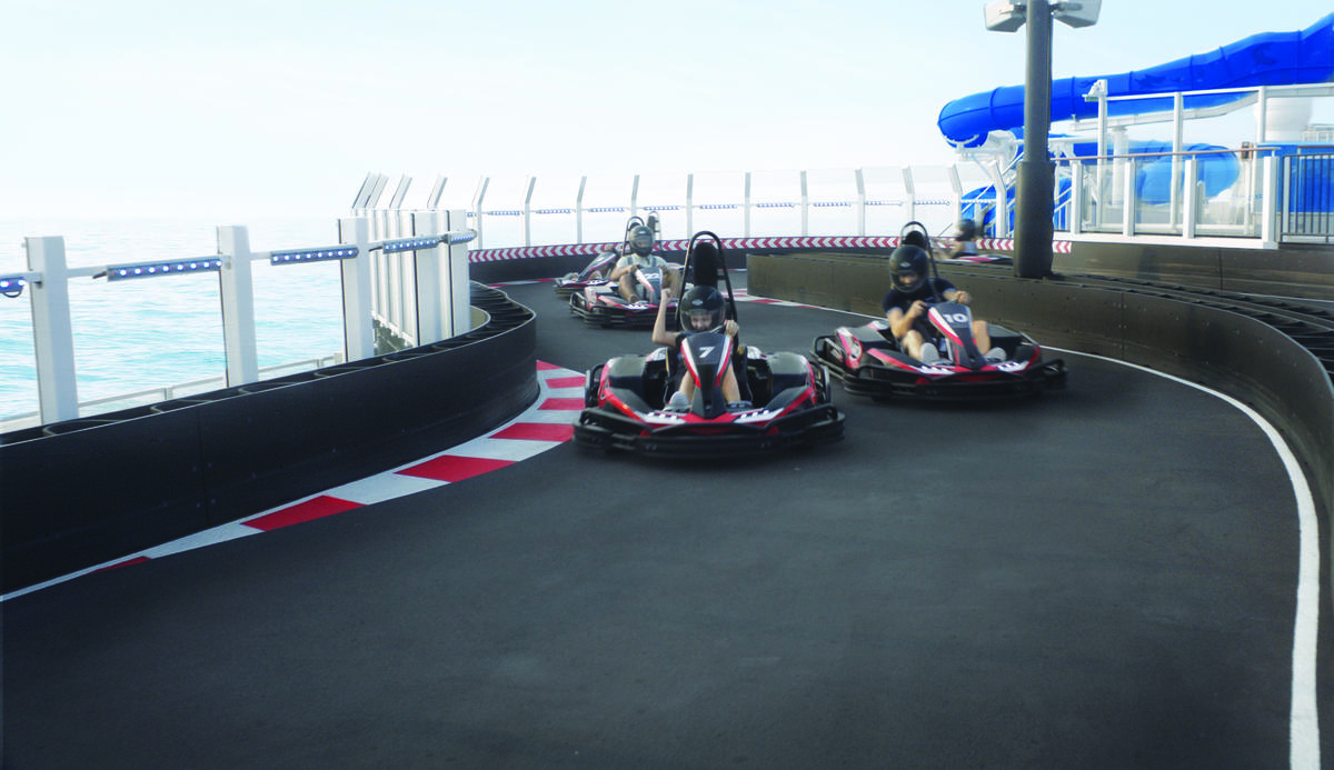 Go Karts On Norwegian Cruise Line Cruise Critic