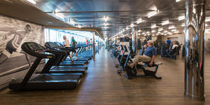 The Fitness Center on MSC Seaside (Photo: Cruise Critic)