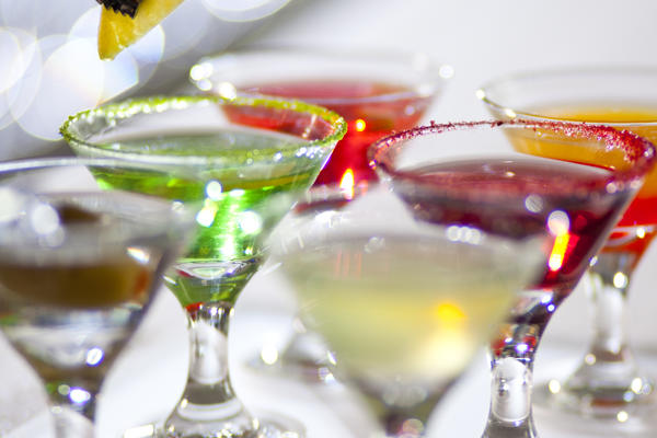 Martini Flight from Celebrity Cruise (Photo: Celebrity Cruise Lines)