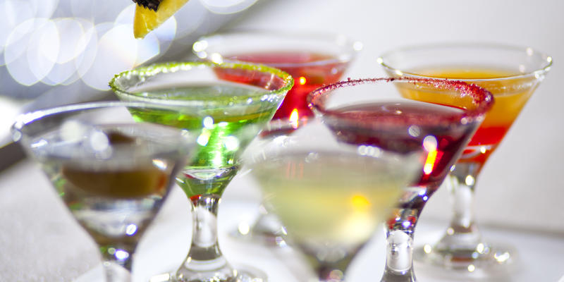 Martini Flight from Celebrity Cruise Line (Photo: Celebrity Cruise Line)