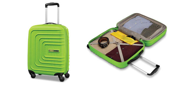 American Tourister Sunset Cruise 20-Inch Hard-Sided Spinner (Photo: Amazon)
