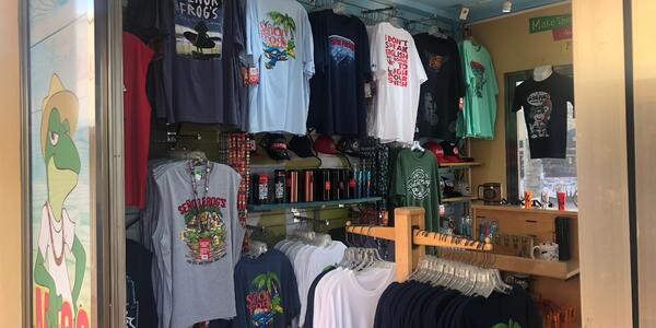 Senor Frog's gift shop in Cozumel, Mexico (Photo: Adam Coulter)