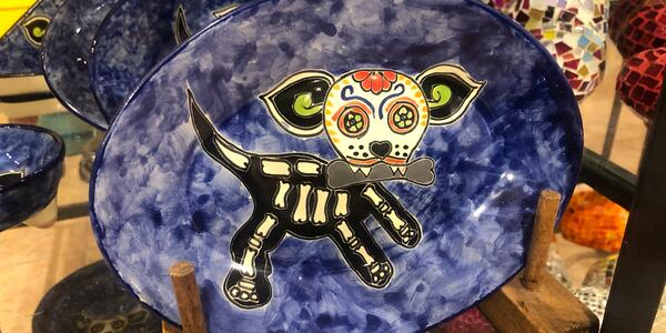 Day of the Dead pottery (Photo: Adam Coulter)