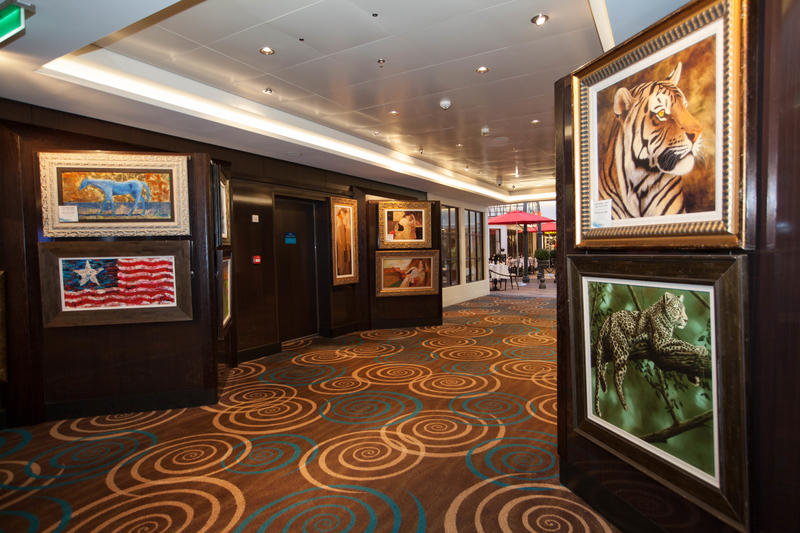 Art Gallery on Norwegian Getaway
