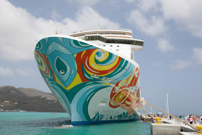 Exterior on Norwegian Getaway