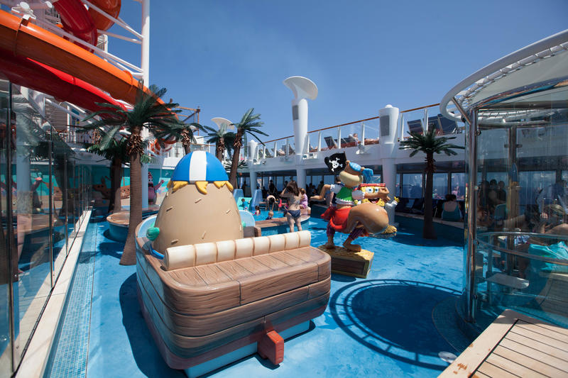 Kids' Aqua Park on Norwegian Getaway