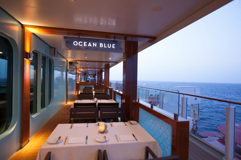 Ocean Blue on Norwegian Getaway