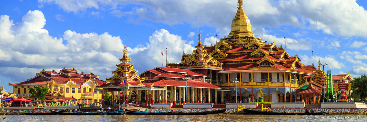 Phaung Daw Oo Pagoda, Inle lake, Shan state, Myanmar (Photo: lkunl/Shutterstock)