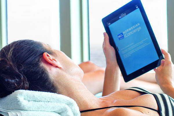 Texting on a Cruise: 7 Cruise Line Messaging Apps (Photo: Norwegian Cruise Line)