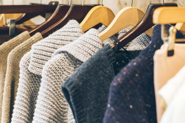 Various Clothes Displaying on a Clothing Rack (Photo: Roxana Jifcovici/Shutterstock)