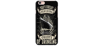 """Today's Forecast Cruising"" Phone Case (Photo: Amazon)"