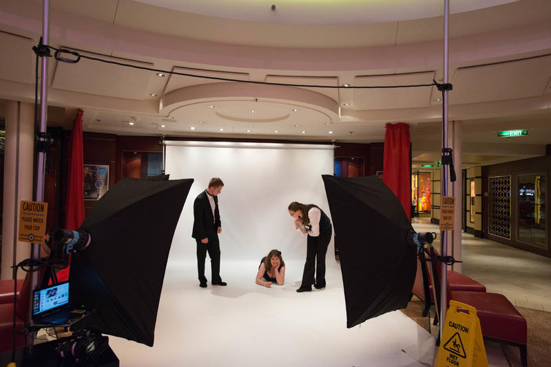 Portrait Sessions on Celebrity Eclipse