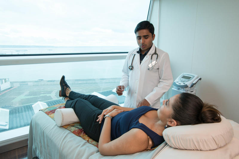 Acupuncture on Celebrity Eclipse