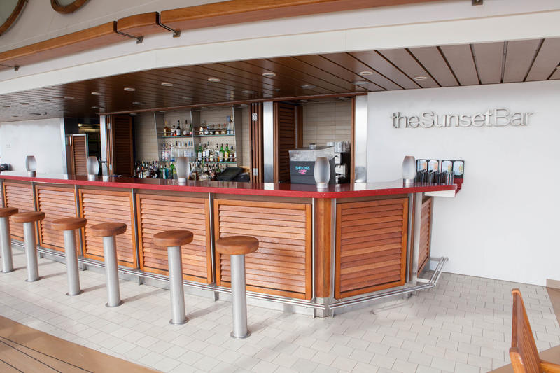 Sunset Bar on Celebrity Eclipse