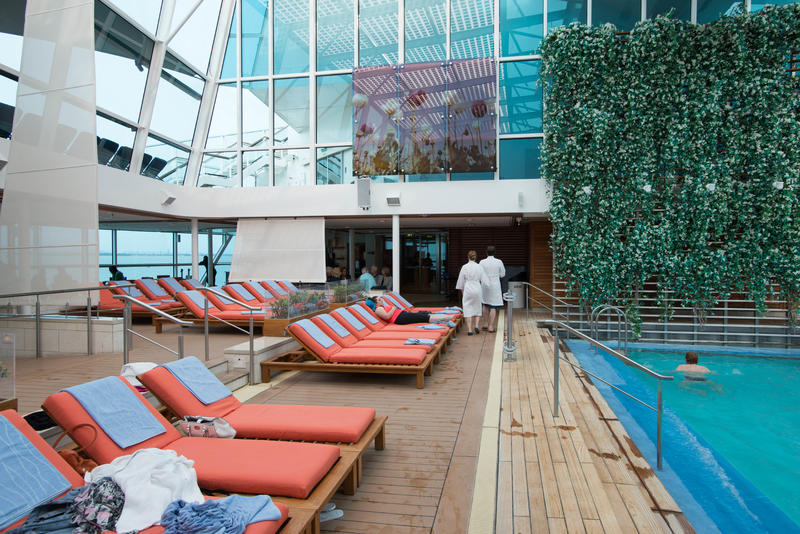 Spa Pool on Celebrity Eclipse