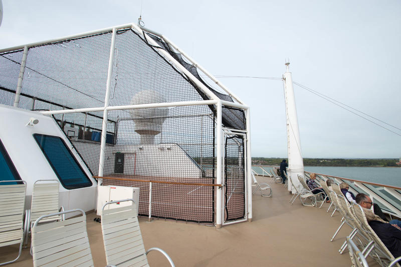 Basketball Court on Celebrity Eclipse