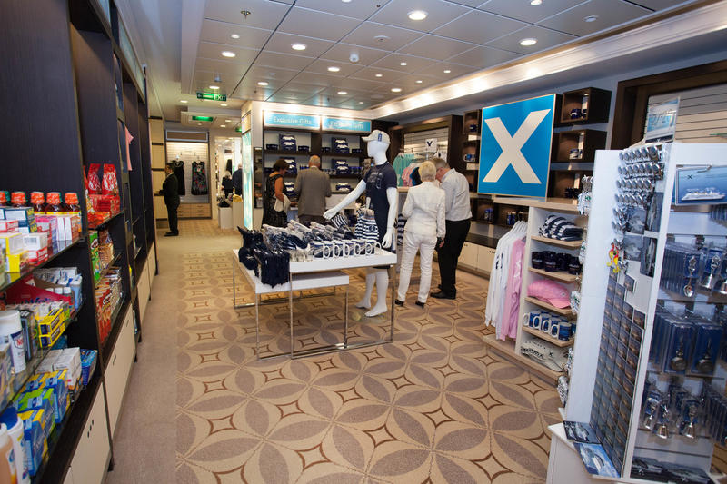 Shops on Celebrity Eclipse