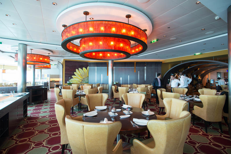 Tuscan Grille on Celebrity Eclipse