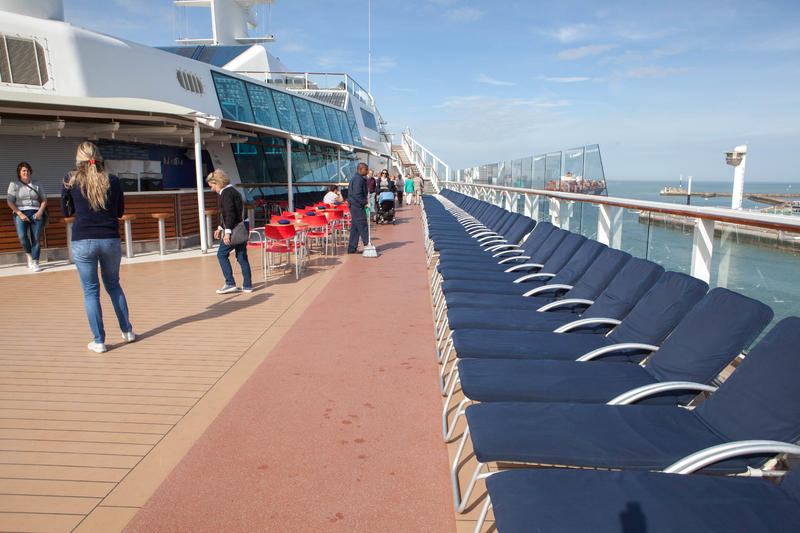 The Promenade Deck on Celebrity Eclipse