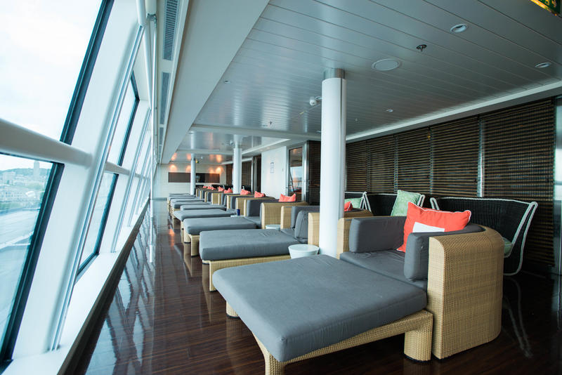 Relaxation Room on Celebrity Eclipse