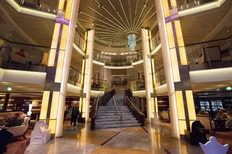 Atrium on Celebrity Eclipse