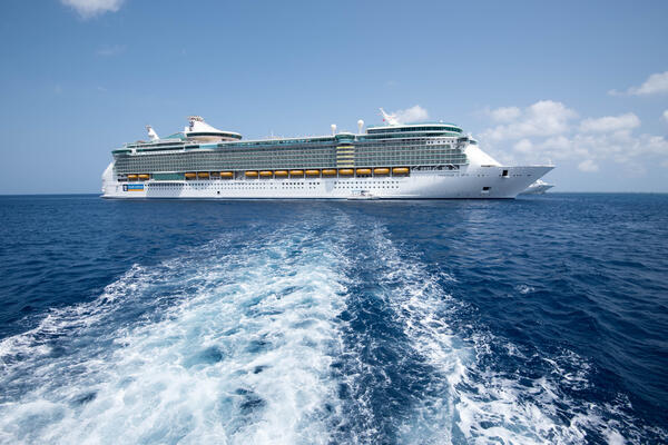 Exterior on Freedom of the Seas