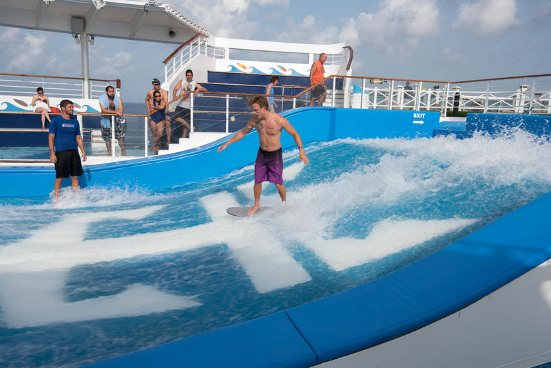 FlowRider on Freedom of the Seas