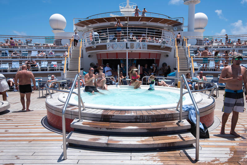 The Whirlpools on Freedom of the Seas