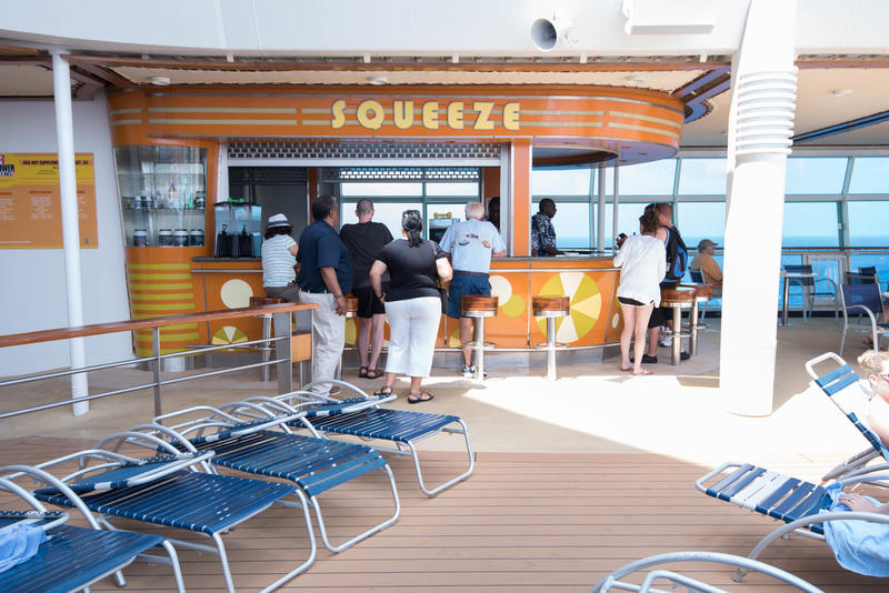Squeeze on Freedom of the Seas