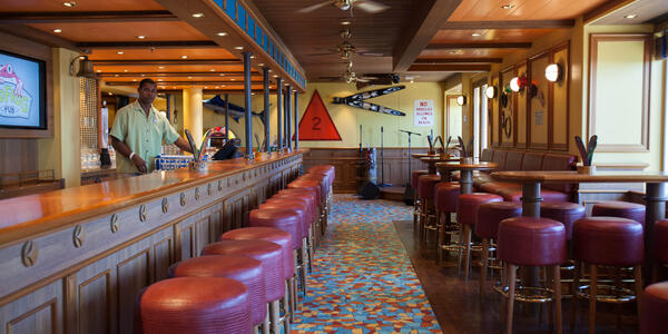 Red Frog Pub on Carnival Breeze