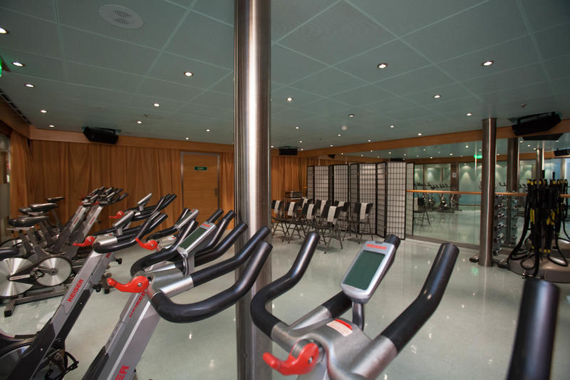 Fitness Center on Carnival Breeze