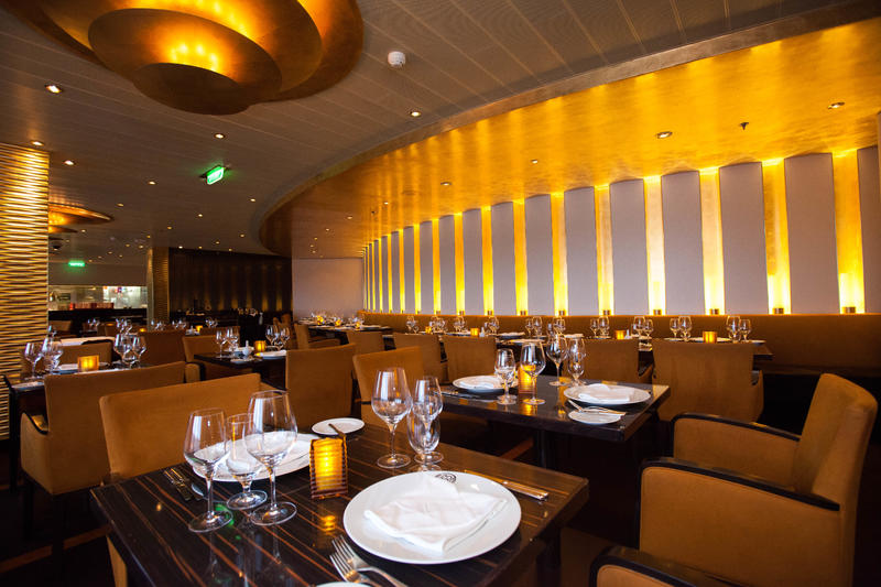 Fahrenheit 555 Steakhouse on Carnival Breeze