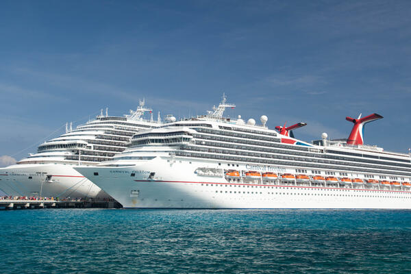 Exterior on Carnival Breeze