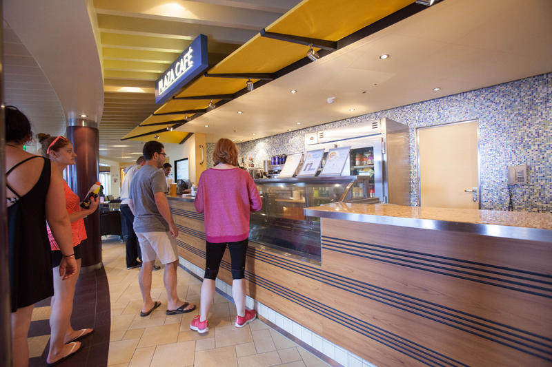 Plaza Cafe on Carnival Breeze