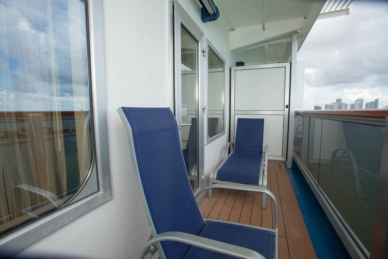The Cloud 9 Spa Balcony Cabin on Carnival Breeze
