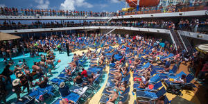 The Lido Deck on Carnival Breeze