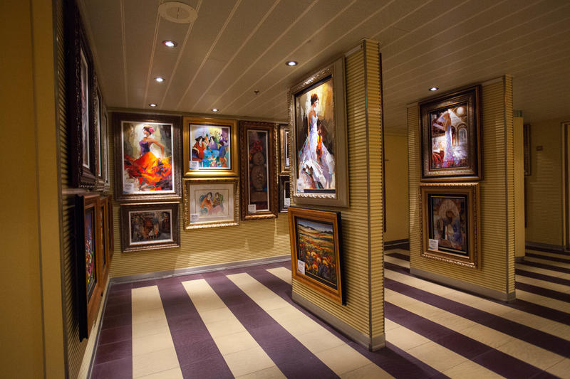 Gallery on the Way on Carnival Breeze