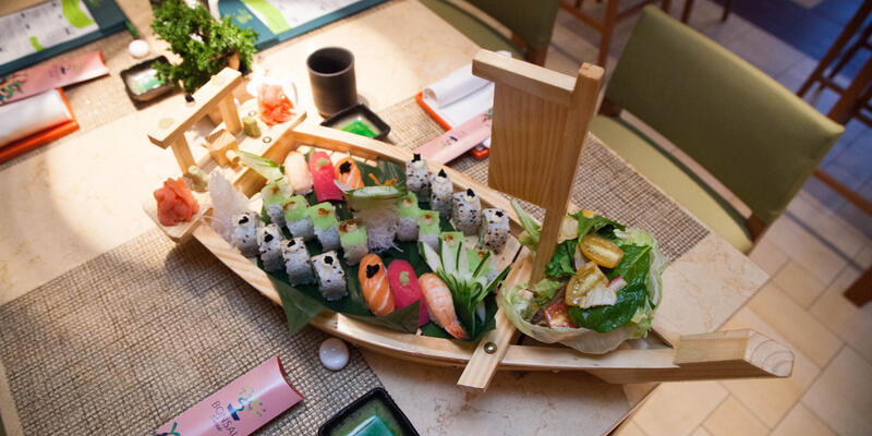 Bonsai Sushi on Carnival Breeze (Photo: Cruise Critic)