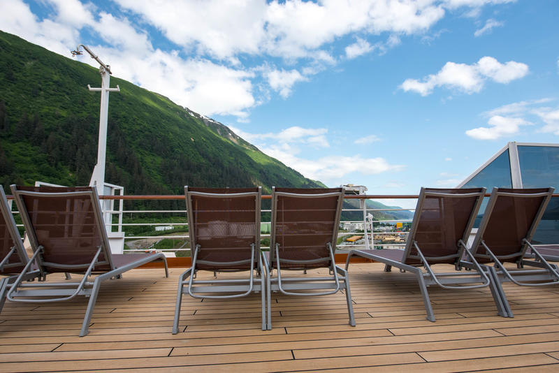 The Observation Decks on Noordam