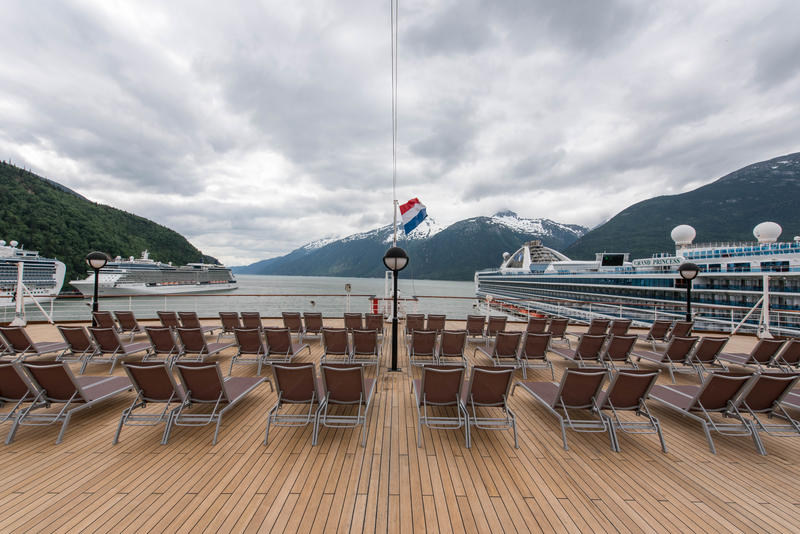 The Sun Deck on Noordam