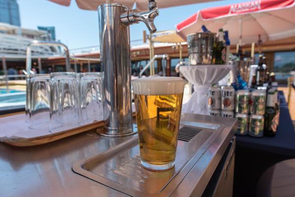 Lido Bar on Noordam