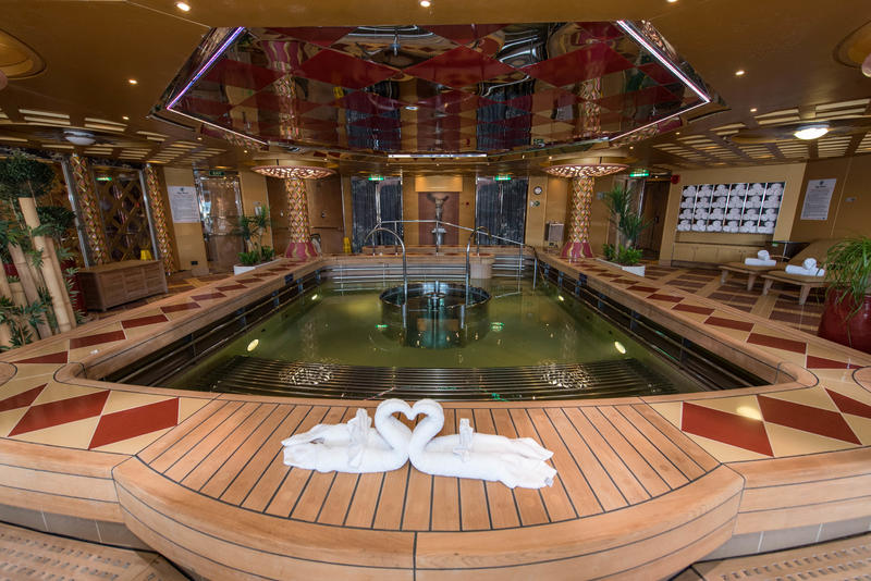Hydrotherapy Pool on Noordam