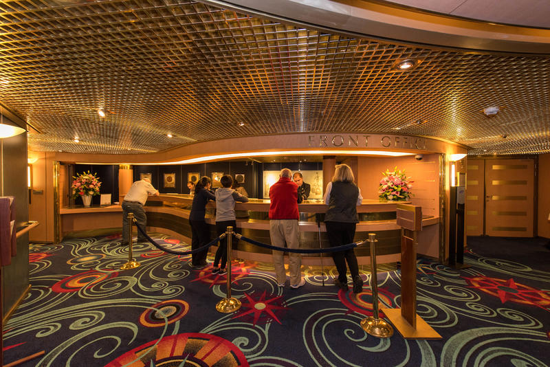 Front Office on Noordam