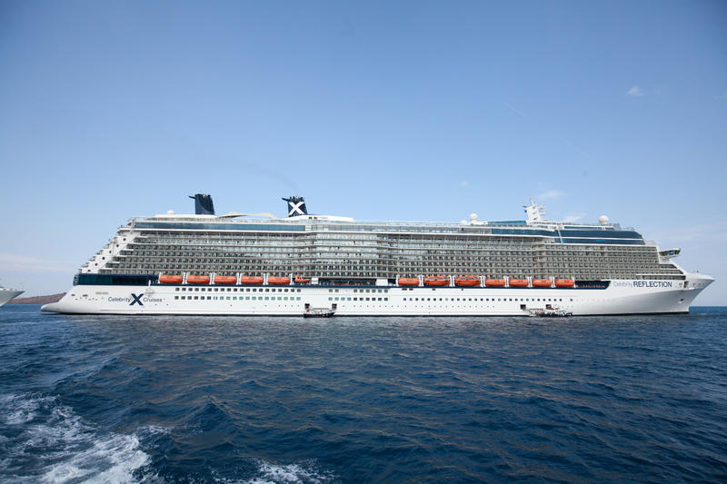 Exterior on Celebrity Reflection