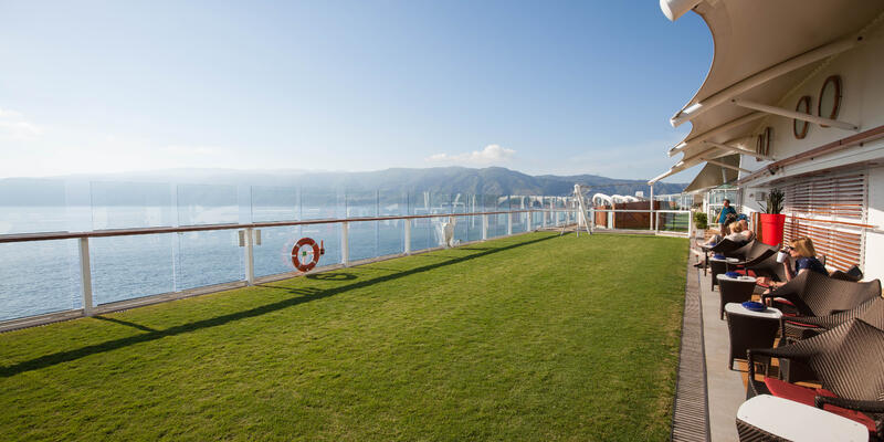 The Lawn Club on Celebrity Reflection (Photo: Cruise Critic)