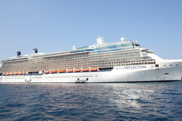 Exterior on Celebrity Reflection (Photo: Cruise Critic)