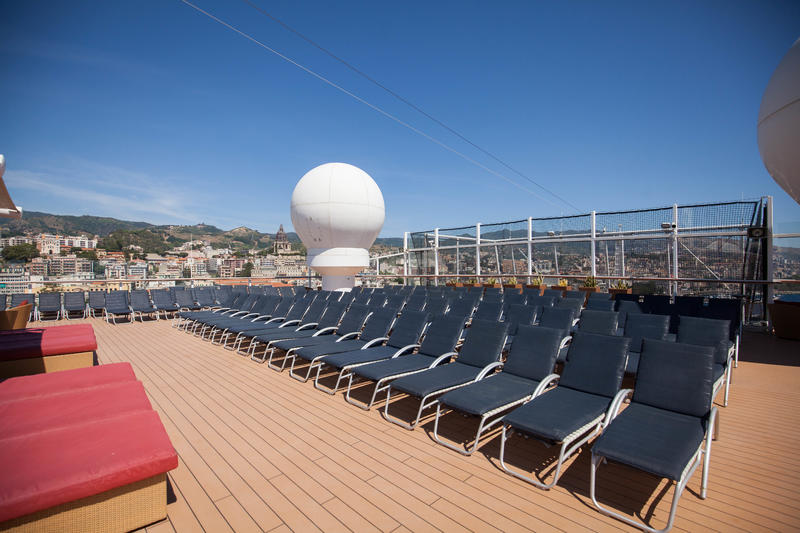 The Solstice Deck on Celebrity Reflection