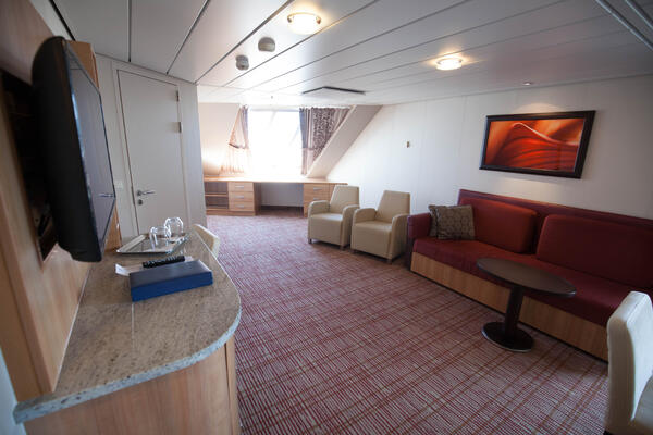 The Family Veranda Cabin on Celebrity Reflection